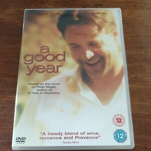 A Good Year DVD R2 Like New! FREE POST