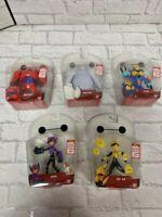 Disney Big Hero 6 The Series 12.5cm Figures Go Go Hiro Baymax Fred Brand New