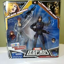 Marvel Legends Black Widow and Winter Soldier action figures (set)