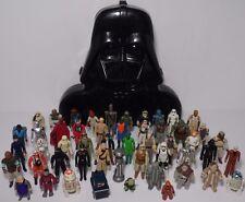 Lot 52 Vintage 1977 1980 1983 Star Wars Action Figures Darth Vader Case Rotj Esb