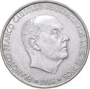 Better - 1966 Spain 100 Pesetas - TC *437