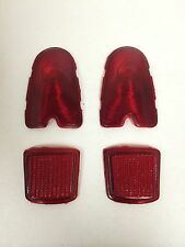 Peugeot 403 Tail Light Lens Set -NEW- #1077