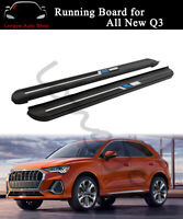 2PCS Running Boards Side Step Nerf Bars fits for Audi All New Q3 2019 2020