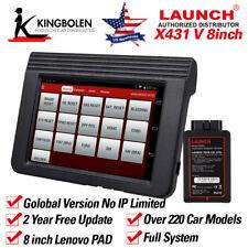 X431 V OBDII/EOBD ScanPad Car Diagnostic Scanner Code Reader ABS SRS DPF Global
