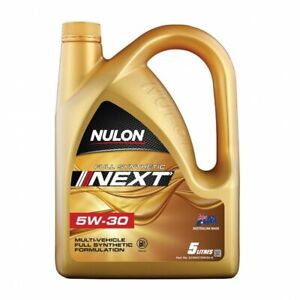Nulon Full Synthetic NEXT Multi-Vehicle Formula 5W-30 5L SYNNXT5W30-5