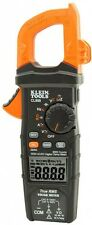 Klein Tools Digital Clamp Meter Measures AC/DC Voltage Resistance Frequency New