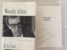 Woody Allen SIGNED Bio Mai Farrow Diane Keaton Annie Hall Sid Caeser 1991  HC/DJ