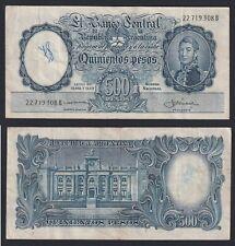 Argentinien 500 Pesos 1944 (54) BB / VF C-09