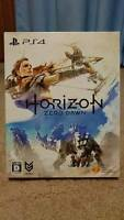 USED Horizon Zero Dawn Limited Edition Game PS4 Art book Special Box F/S JAPAN