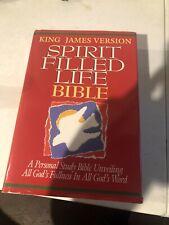 1995 King James Spirit Filled Life Bible Thomas Nelson Hardcover Hayford