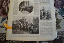 1906 Zeitungsblatt 50 / Erdbeben Zammaro Italien
