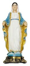 OUR LADY VIRGIN MARY 205mm RESIN STATUE - CRUCIFIXES CANDLES PICTURES LISTED 969