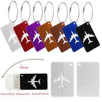 Accessori in valigia Etichetta bagagli Tag di viaggio Titolare dell'indirizzo