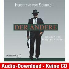 Hörbuch-Download (MP3) ★ Ferdinand von Schirach: Der Andere (Schuld)