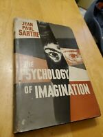 the psychology of imagination 1948 by Jean-Paul Sartre, hcdj, 1st edition