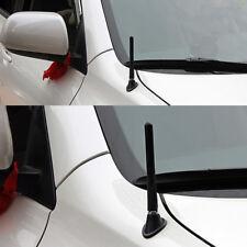 """Black Car Genericl 4.7"""" Carbon Fiber Screw Aluminum Alloy Radio Aerial Antenna"""