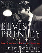 Elvis Presley: A Life in Music by Ernst Jorgensen (Softback, 1998)