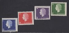 CANADA STAMPS #406-409    --- COMPLETE 1962 COILS (4) - UNUSED