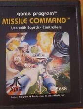 Missile Command Atari VCS 2600 (Modul)