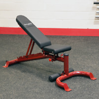 Body-Solid  Adjustable Incline Decline Flat Weight Bench w/ Wheels