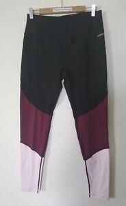 Ladies ELL & VOO Multicoloured Full Length activewear Leggings Size XL (16)