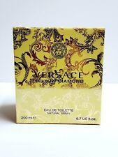 Versace Yellow Diamond Women 6.7 oz 200 ml *Eau De Toilette* Spray Nib Sealed