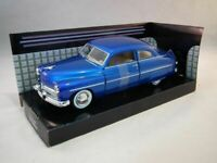 Mercury Coupe 1949 - Blue, Classic Metal Model Car, Motormax 1/24