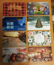 LOT OF 8 EMPTY UNUSED WALMART GIFT CARDS #3