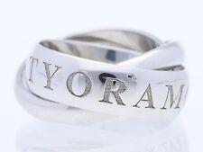 Cartier Or Amour Et Trinity Ring 750 Gold 18 Karat 10,00 Gramm Größe 45