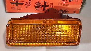 Alfa Romeo Parking Light Assembly Turn Signal MILANO 75 NEW Right
