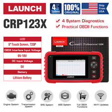 LAUNCH X431 CRP123X OBD2 ABS SRS Code Reader Car Check Engine Diagnostic Scanner