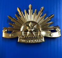 Rising Sun Version 6  #badge #hatbadge #risingsun #anzac