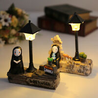 TOY LED NIGHT LIGHT TOY ANIME NO FACE MAN FIGURE MODEL TOY KIDS GIFT TABLE LAMP