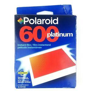 Polaroid 600 Platinum Instant Film Photo Pack of 10 Exp 07/2001 New Sealed