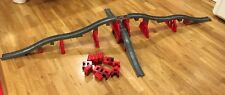 HUGE SET LEGO DUPLO THOMAS AND FRIENDS GRAY TRACK TRAIN BRIDGES