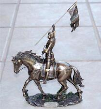 VERONESE ART Saint JOAN OF ARC Jeanne De Arc French Hero STATUE FIGURE FIGURINE