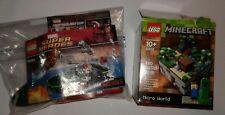 Lego Marvel IRON MAN Extremis Sea Battle 76006 Lego MINECRAFT Micro World 21102