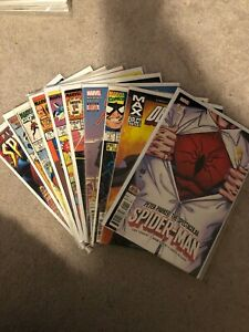 Marvel Comics Number 1's First Issues Lot - Spider-Man Avengers