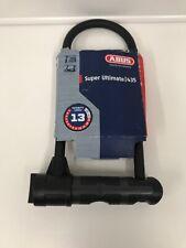 9//12mm Noir ABUS Granit 460 Keyed u-lock