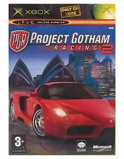 PROJECT GOTHAM RACING  2 XBOX BOXED COMPLETE WITH CASE & MANUAL
