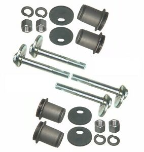 For Dodge Plymouth Set of 2 Front Upper Control Arm Bushings+Eccentric Bolts