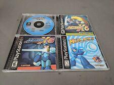 LOT - Mega Man X6 X5 X4 8 PlayStation 1 PS1 NOT Complete CIB Case CIB
