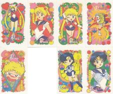 Sailor Moon - R Irezumi Seal Temporary Tattoo Card LOT of 15 [EX] Ail An SMR