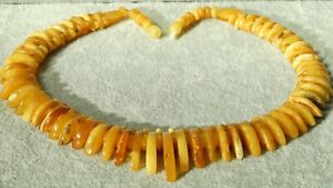 ANTIQUE NATURAL BALTIC AMBER NECKLACE 47 G CHECK MY AUTHENTIC AMBER EBAY SHOP