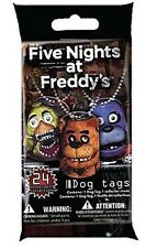 Five Nights at Freddy's Mystery Blind DOG TAG Pack! Officially Licensed NEW!