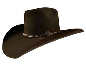 Men's Western Cowboy Hat El Señor de los Cielos 50X Color Brown Horma Conejo