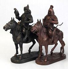 Chinggis Khan Riding Horse Sculpture