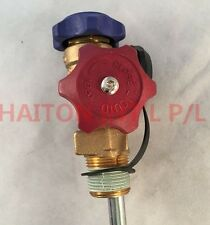 Refrigerant Gas Cylinder Dual Handles With a Single Outlet V21097