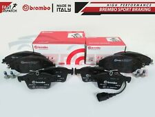 Front And Rear Brembo Brake Pads Audi S3 8V VW Golf MK7 R Seat Leon Cupra 280/RS