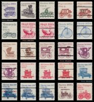 Specialized 1st Transportation 1897-1908 1906a 1906ab + Set of 25 MNH - Buy Now